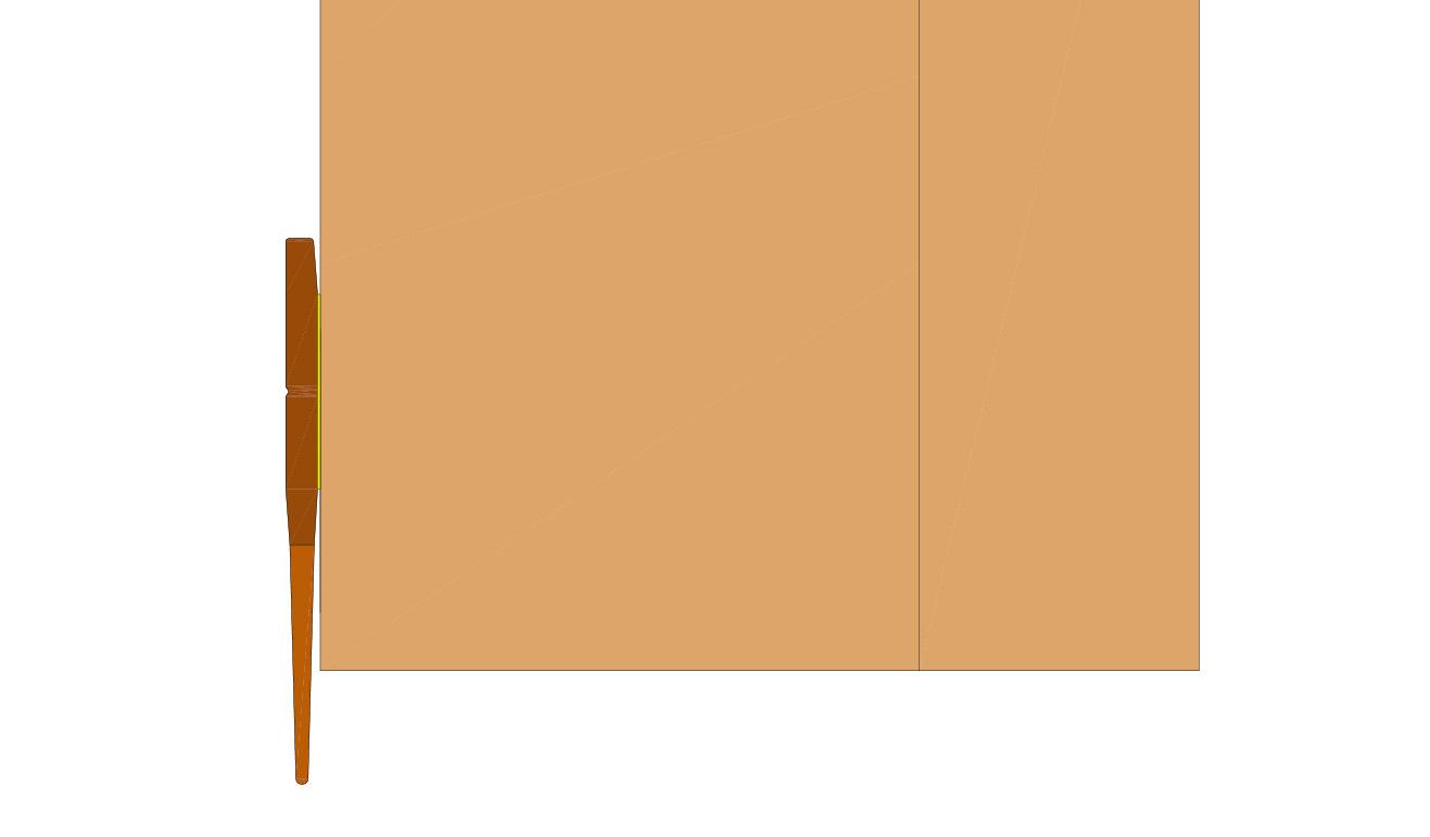 Paraspifferi per Porta in legno