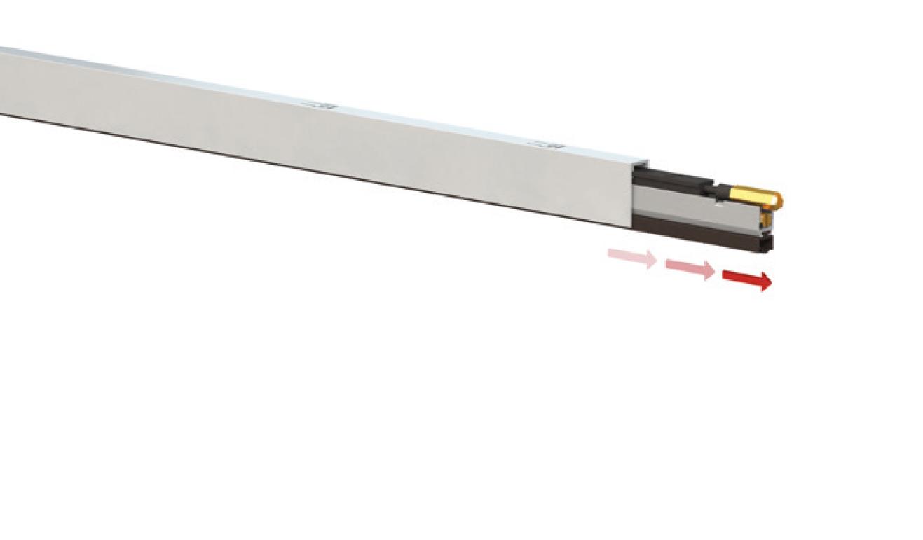 Sistema di fissaggio standard per il paraspifferi Serie No Sound 1700