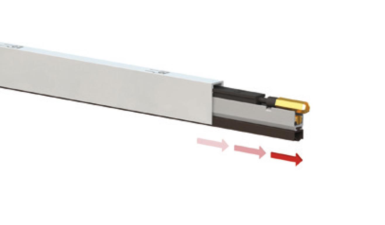 Sistema di fissaggio standard per il paraspifferi Serie Basic 422