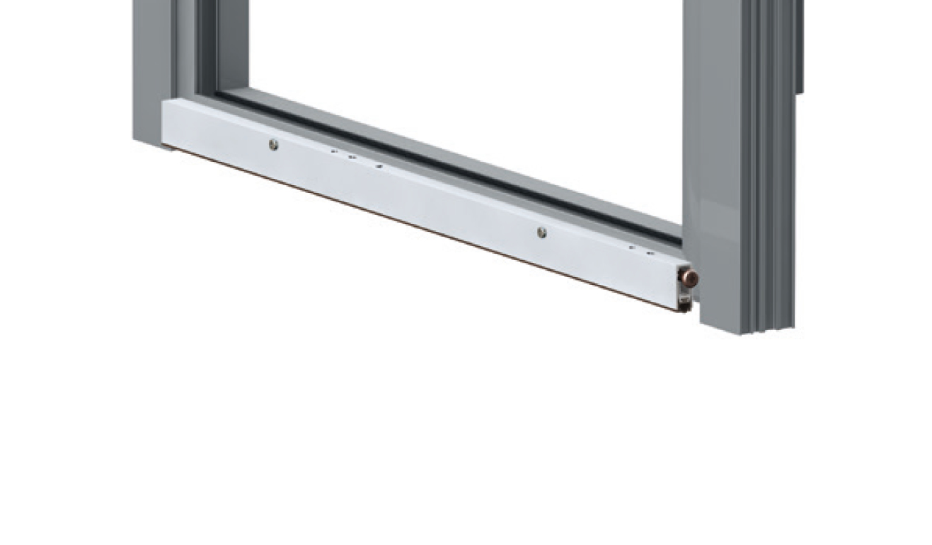 Standard fastening system for drop down seal Serie Basic 475