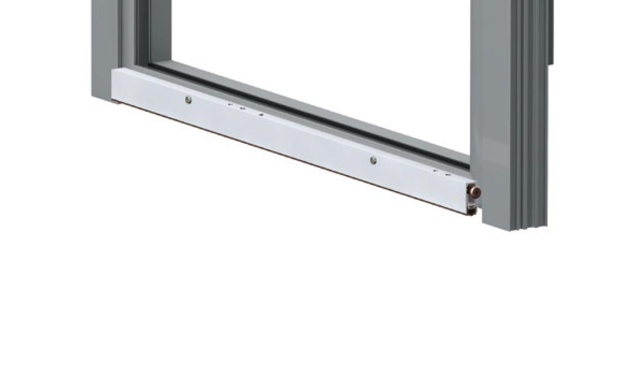 Sistema di fissaggio standard per il paraspifferi Serie Basic 475