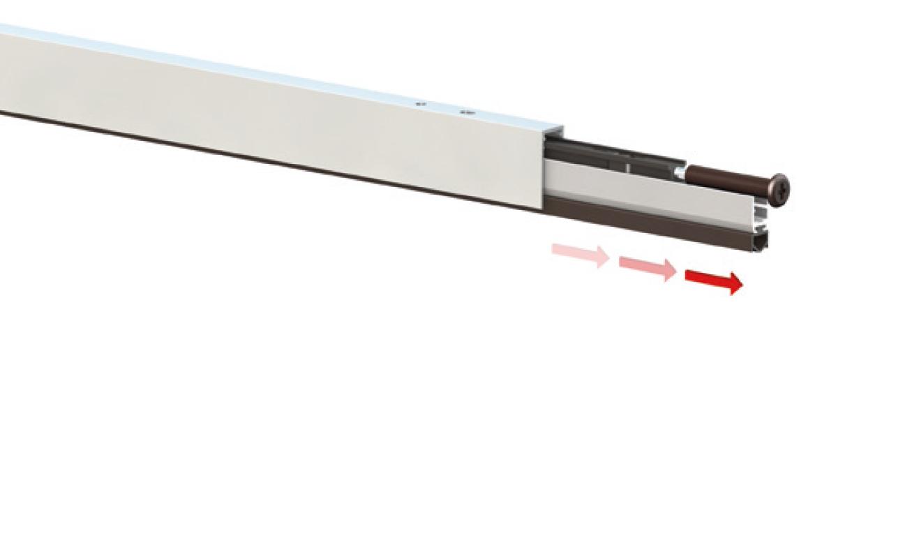 Sistema di fissaggio standard per il paraspifferi Serie Special 920